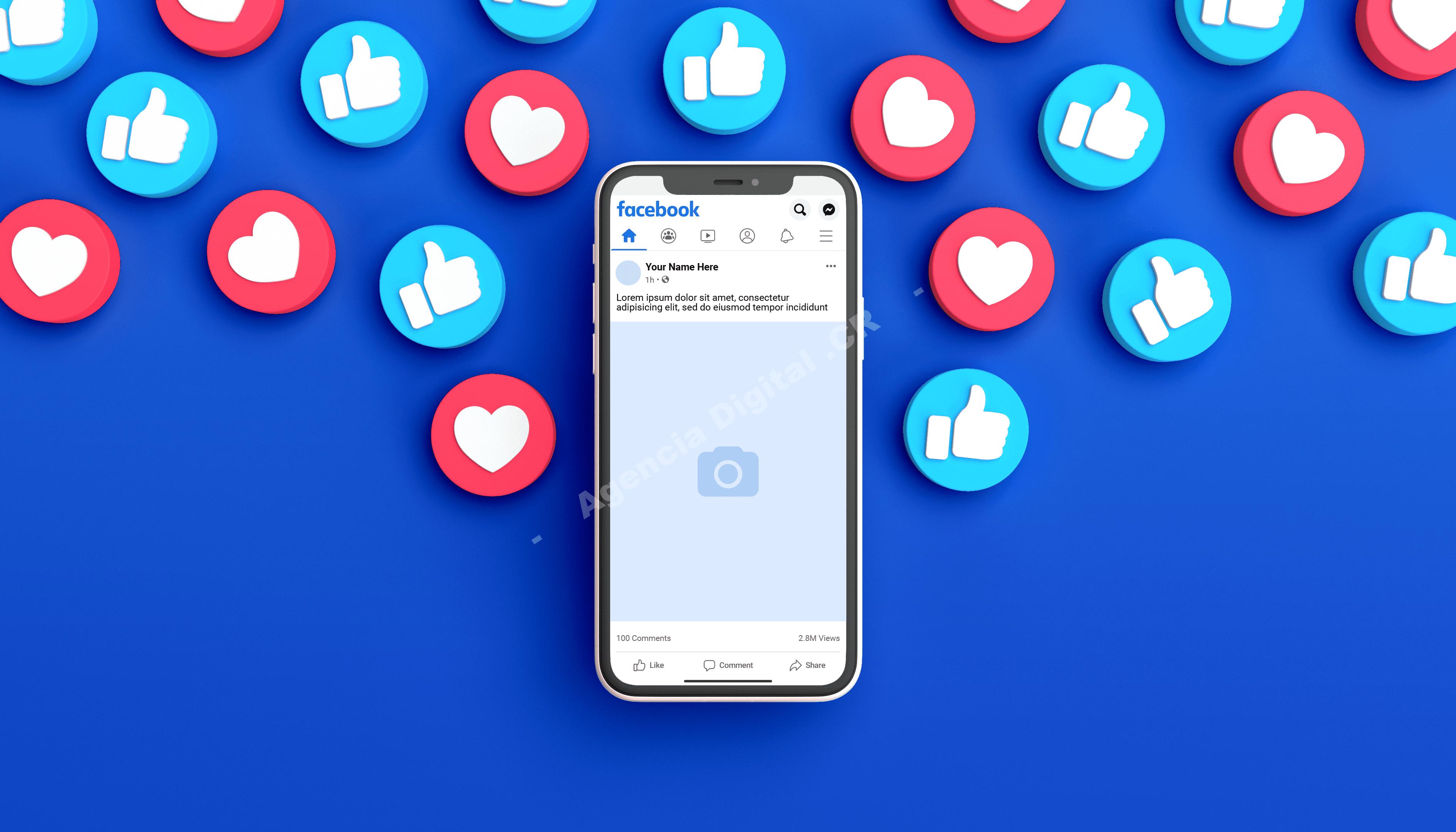 Facebook coincide anuncio objetivo empresarial Agencia Digital de Costa Rica