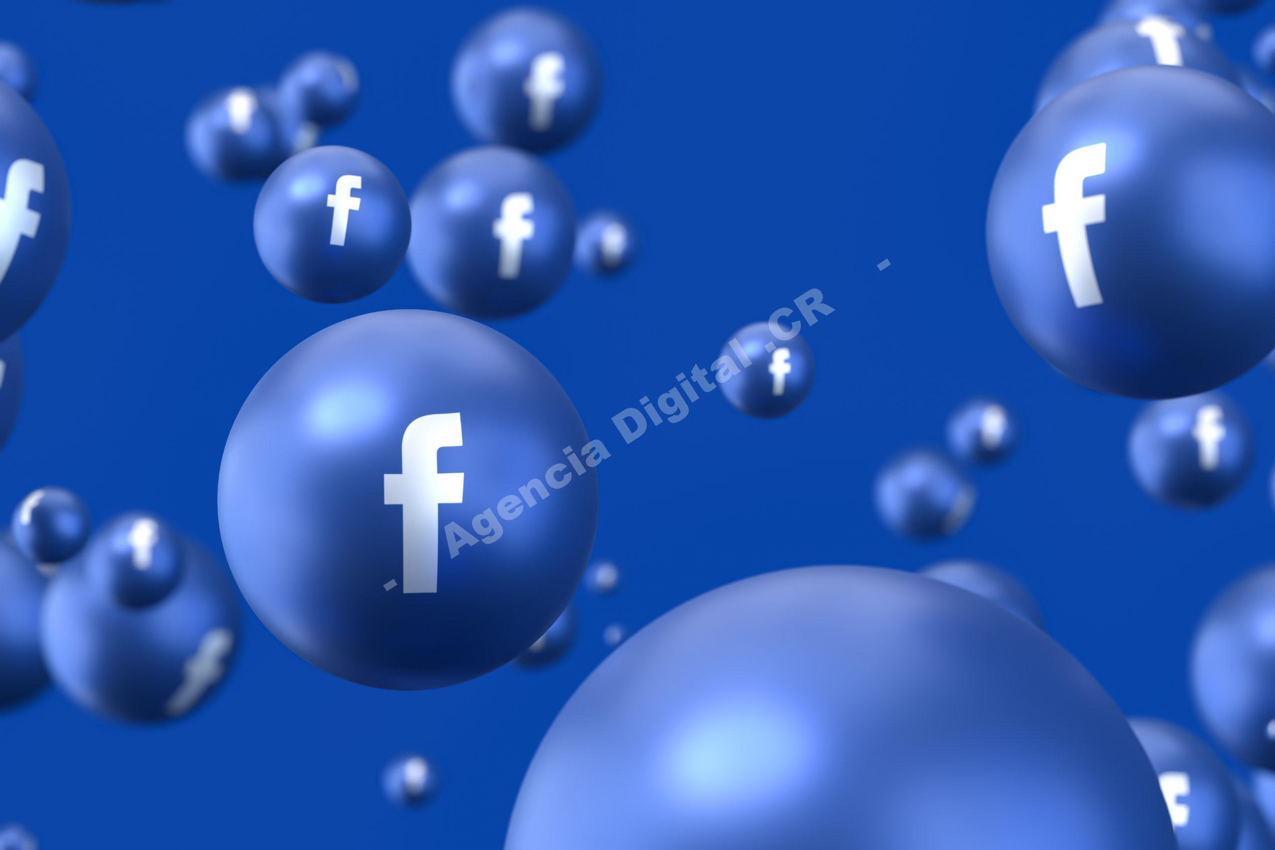 Facebook importancia de los dominios web Agencia Digital de Costa Rica
