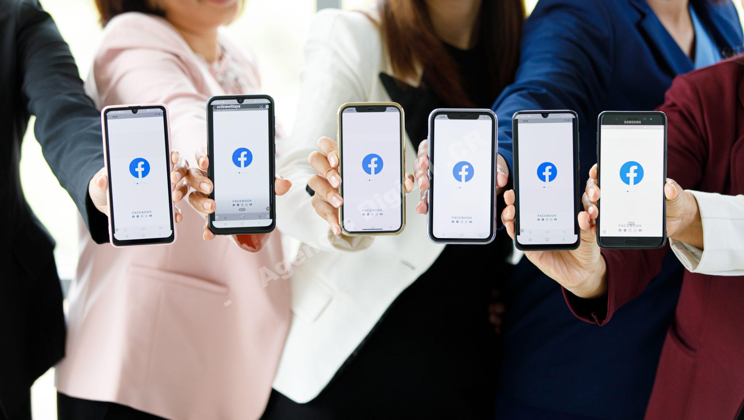 Facebook errores cuenta facebook Agencia Digital de Costa Rica