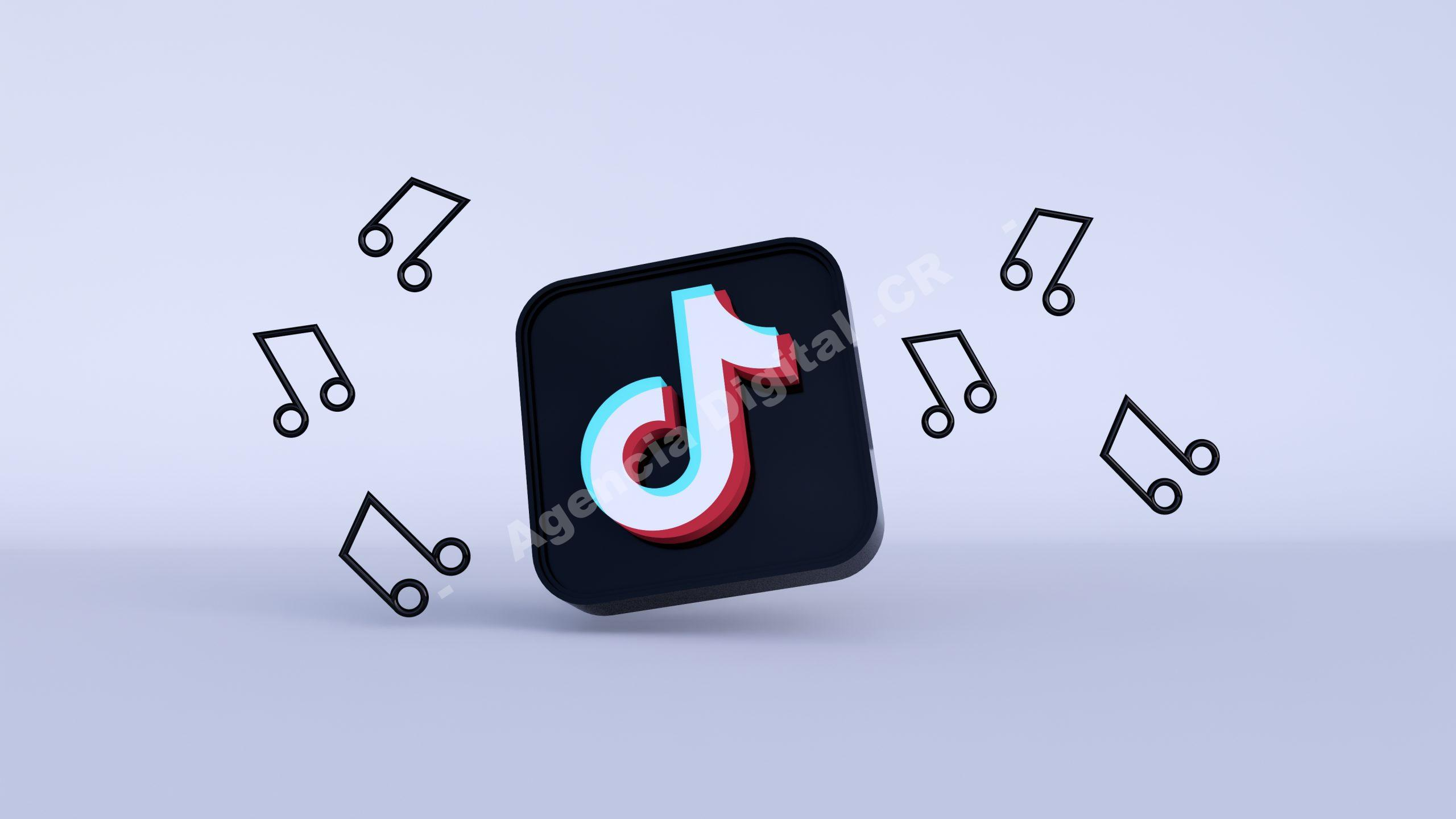 Redes Sociales musica de tik tok Agencia Digital de Costa Rica